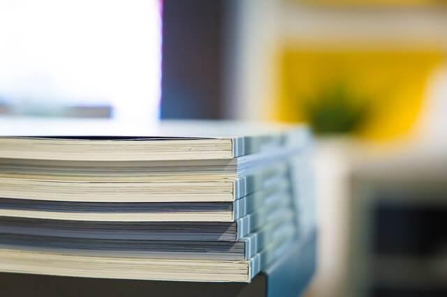 Foldery reklamowe zdjęcie